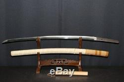 (AD-85) Very Rare Gold Sign KABUTOWARI (Trial slash of helmet) KIYOMITU