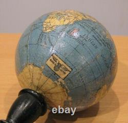 A very Rare WWII English-Japanese Small Terrestrial Globe, Circa 1940