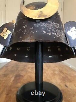 Antique Edo Period Japanese Kabuto Samurai helmet. Very Rare