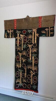 Antique Japanese Kabuki Costume Rare 1900-1920's Kimono Robe