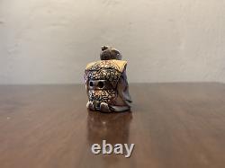 Antique Japanese Netsuke' Warrior Genuine Quality Rare Material