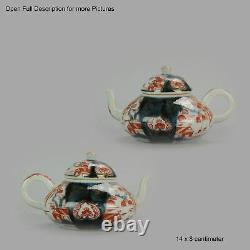 Antique Rare 1670-1690 Japanese Imari Porcelain Teapot Arita Edo Japan