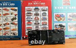 #Antique Tin Toy# Japanese ASC AOSHIN Siren Ford Police Car Japan Rare