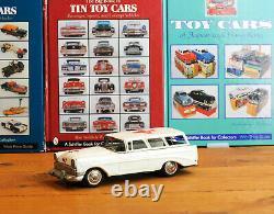 #Antique Tin Toy# Japanese Bandai 1956 Ford Station Ambulance Car Japan Rare