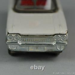 #Antique Tin Toy# Japanese Ichiko 1961 Cadillac Dutch Ambulance Car Japan Rare