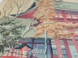 Asano Takeji Original Japanese Woodblock Print Rare first edition 1930