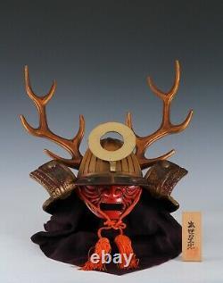 Beautiful Japanese Samurai Helmet -Honda Tadakatsu Kabuto- Extremely Rare