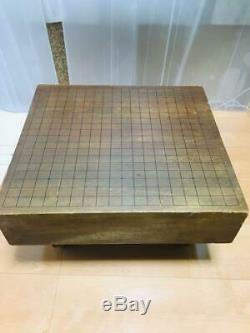 GOBAN Japanese IGO Go Game Go board Antique Rare from Japan Fedex