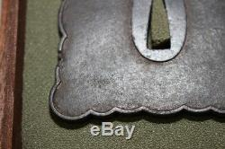 (IF-86) Very Rare design NINJYA Tsuba Edo