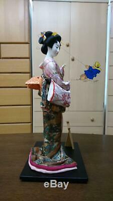 Japanese Antique Oyama Doll Geisha Kimono Lady Beauty Rare UNUSED Japan FedEx