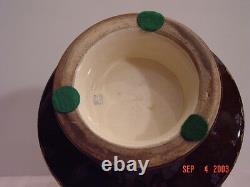 Japanese Antique Satsuma Vase Rare Color Signed Kinkozan