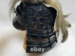 Japanese Antique helmet Kabuto Edo Era Lantern Helmet Rare Used