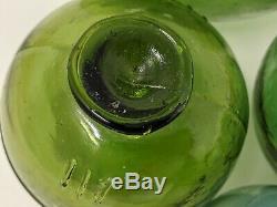 Japanese Glass Fishing FLOATS LOT- 11 Round RARE SIZE Buoy Balls Authentic