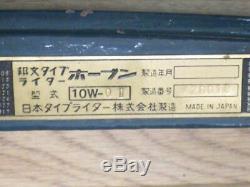 Japanese Old Wabun Typewriter antique vintage very rare