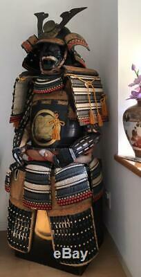 Japanese Traditional Armor Yoroi Samurai High Class Vintage With Box Very Rare