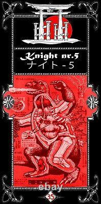 Japanese tarot rare card deck antique collection old ninja samurai japan oracle
