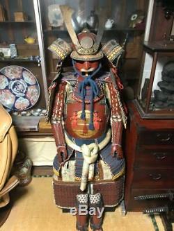 Japanese traditional wearable armor Old samurai iron High class rare 3E