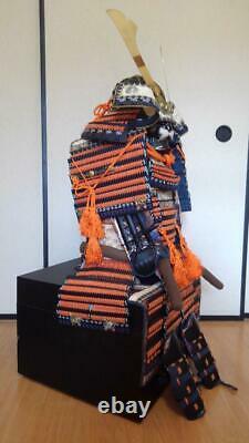 Kabuto and Armor Full Set Japanese Traditional SAMURAI wearable yoroi rare 2E