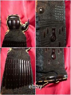 Kote of Yoroi large sizeRareEdoJapanese ArmorJapanese Sengoku samurai Edo