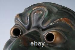 Old Vintage Beautiful Paper Clay Buddhism Mask -Garuda Guardian- Rare Product