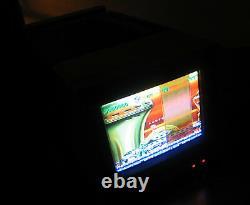 RARE 1986 Sharp Red MINI Portable CRT TV Color TUBE Television 5LS36 JAPAN