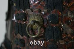 RARE IYOZANE 2 Iron Plates DOU with6 DAN KIRITSUKE KOZANE SODE of YOROI(armor)EDO