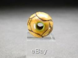 RARE Masks OJIME Bead NETSUKE 18-19thC Japanese Edo Antique for INRO