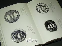 Rare BOOK TSUBA KANSHOKI 1975 JAPANESE ANTIQUE TSUBA / Very large book