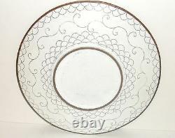 Rare Japanese Cloisonne Enamel Millefleur 75/8 Plate