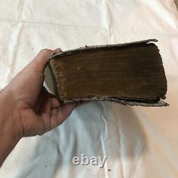 Rare Japanese Encyclopedia Book Circa 1840 Woodblock Manuscript with Many Images