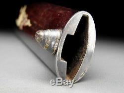 Rare KOGATANA TANTO SAYA Shell Inlaid Sheath 19thC Japanese Edo Koshirae Antique