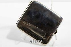 Rare Miyamoto-Shoko. 950 Silver Cigarette Case, circa 1930