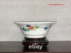 Rare Museum Pieces Japanese 17thC Edo Kakiemon Nigoshide Iroe Bowls Set