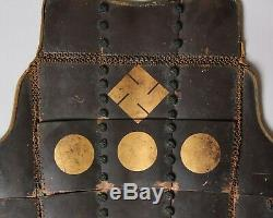 Rare Samurai Tatami Gusoku armour with Hachisuka Clan crests Edo, 18-19 th. AA20