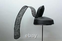 Rare Shinto Kanmuri, Japanese tailed Priest Hat. GG71