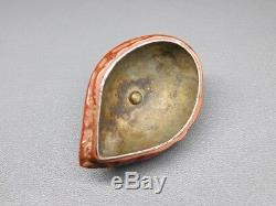 Rare Style Walnut NETSUKE 19thC Japanese Edo Antique for Inro