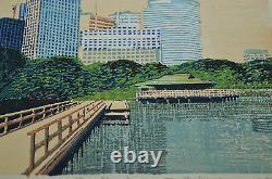Rare Superb Genuine First Ltd Ed Japanese Woodblock Print By Motosugu Sugiyama