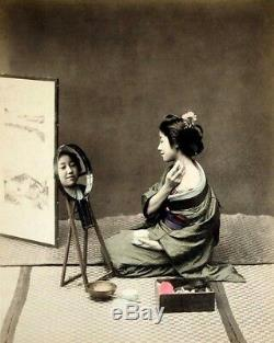 Rare Vintage 1971 Japanese Shiseido Hanatsubaki'Kodaiji-Fu' Double Mirror III