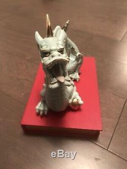 Rare Vintage ceramic Dragon sculpture Japanese craft Yoshimia