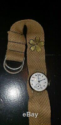 Rare Ww2 Japanese Soldier's Watch Collectible Antique Vintage Wwii