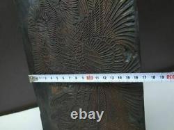 Rare antique Japanese Woodblock Stamp for Printing, Meiji era / before 1900