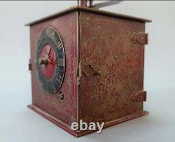 Rare antique wadokei double-foliot japanese clock. With spring and fusee