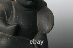 Rare shinto Daikoku Sculpture, 18-19 th century! HH94