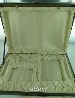 SUPER RARE EARLY 1900s JAPANESE 950 STERLING SILVER SMOKERS SET ORIGINAL CASE