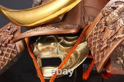 Samurai Helmet -Shikanosuke Kabuto- Nioh Deco Rare