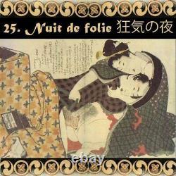Tarot card deck vintage antique rare japanese japan geisha anime illustration