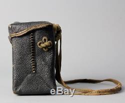 Very rare Samurai gunner bag with Tokugawa Clan crests Edo, 18-19 th. C S12
