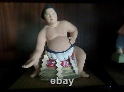 Vintage, Hakata Urasaki Rare 1960's Sumo Wrestler, Great Cond
