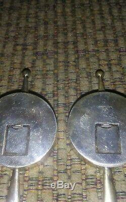 Vintage Rare Japanese 950 Sterling Salt And Pepper Hair Pin Set