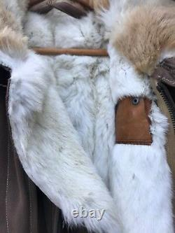 WW2 Imperial Japanese Winter Flight Suit Rabbit Fur Lining Rare VTG World War II